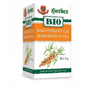 BIO Rakytníkový čaj - podpora imunitného systému