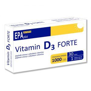 EPAplus D3 FORTE - výživový doplnok s vitamínom D