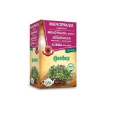MENOPAUZA s ďatelinou - bylinný čaj na problémy v menopauze