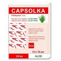 CAPSOLKA – hrejivá kapsaicínová náplasť s Aloe vera