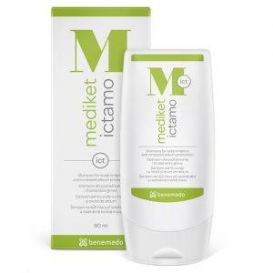 Mediket Ictamo 80ml - šampón pri nadmernej tvorbe mazu