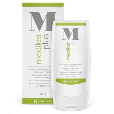 Mediket Plus 100ml - šampón na závažnú formu lupín a svrbenie hlavy
