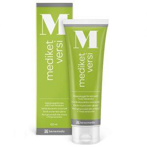 Mediket Versi 120ml - dermatologický sprchový gél pre pokožku hlavy a tela