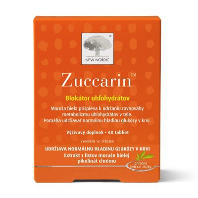 Zuccarin - výživový doplnok na udržiavanie normálnu hladinu cukru v krvi