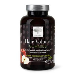 Hair Volume Gummies - chutné jablkové želé pre zdravé vlasy